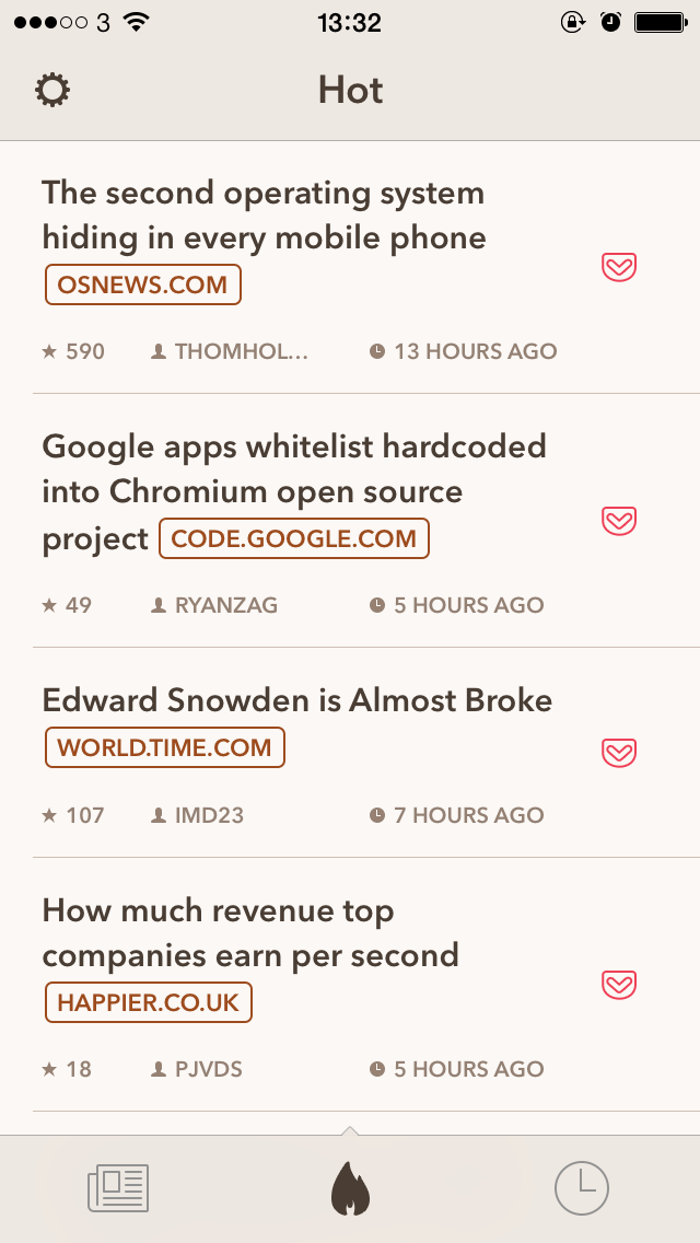 Hack Later — Our Hacker News Client for iPhone